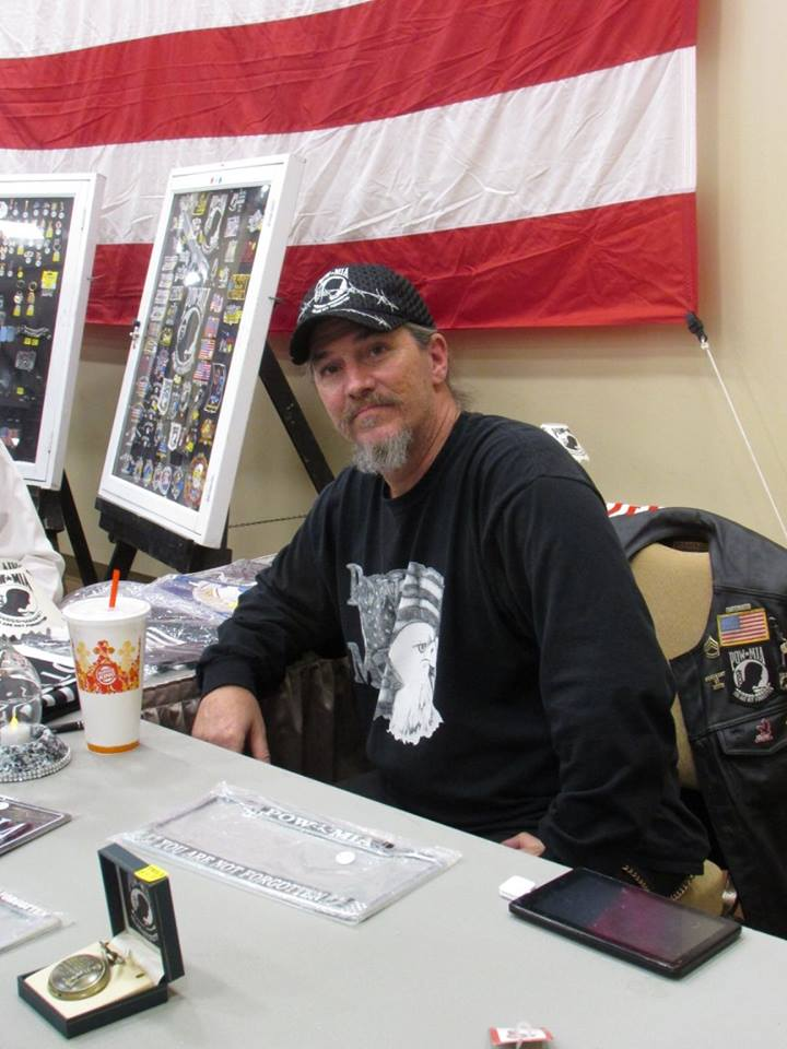 Ken Adams running our booth at an event